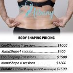 body shaping price list