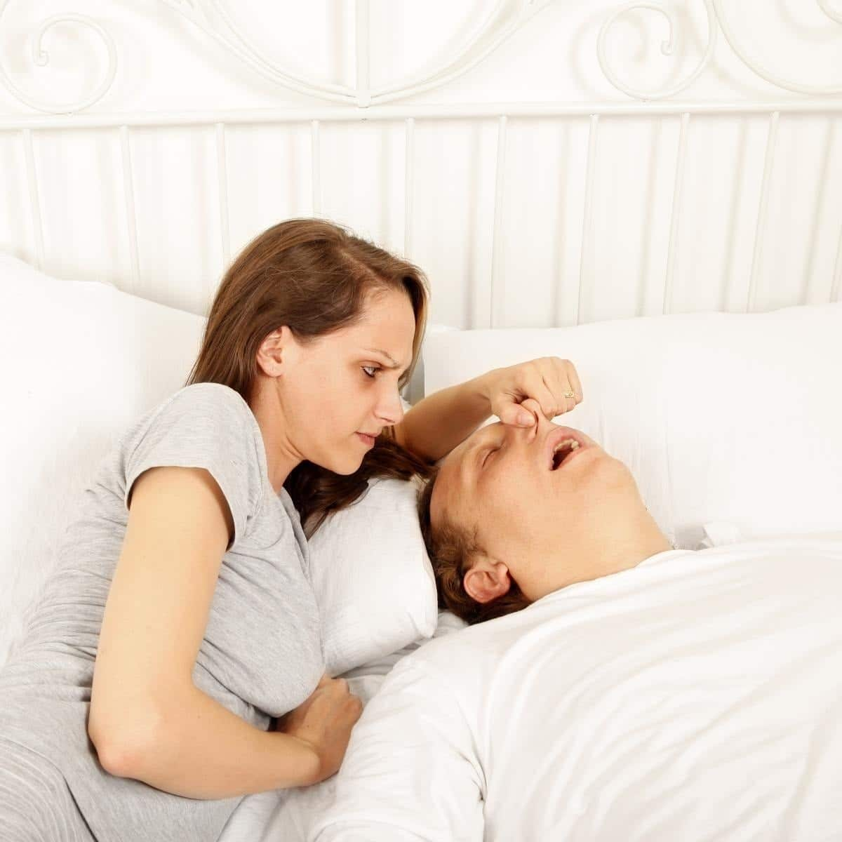 Laser snoring treatment
