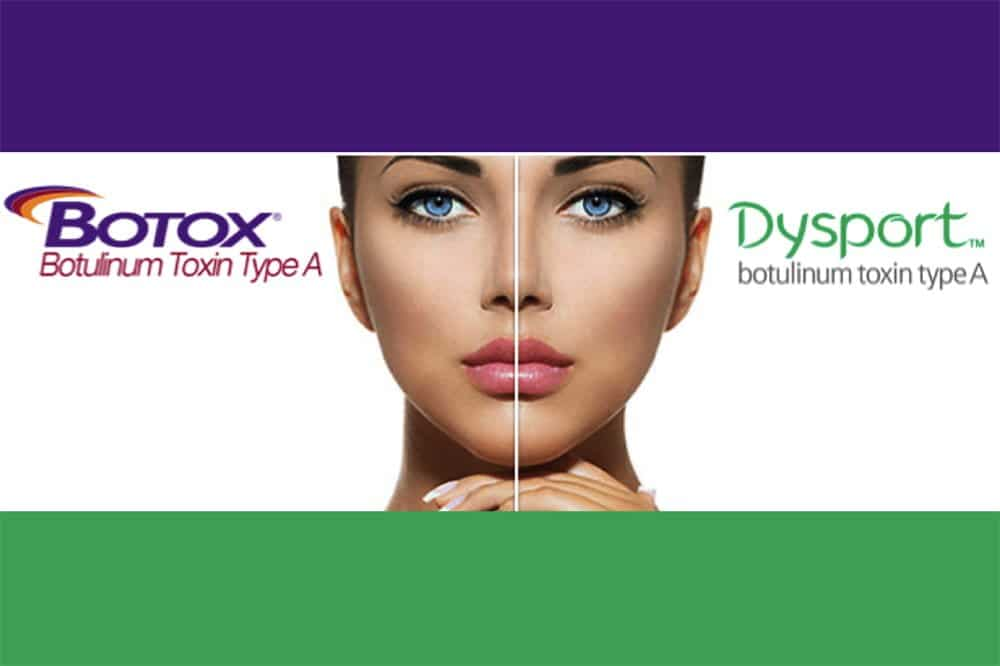 difference between botox and dysport