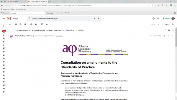 The ACP new standard